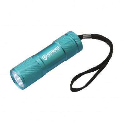 Alu-LED Stablampe Ilumi, Türkis