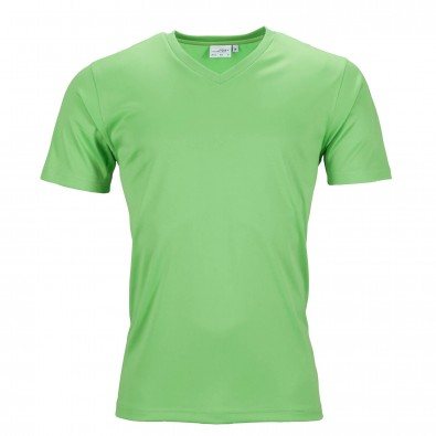 Original James  Nicholson Herren Funktions T-Shirt Active, Lime-Green, L