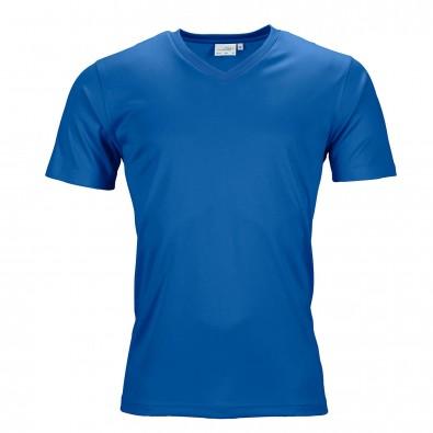 Original James  Nicholson Herren Funktions T-Shirt Active, Royal, S