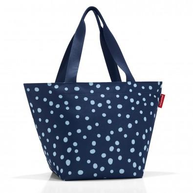 Original Reisenthel® Shopper M, Spots Navy, Blau