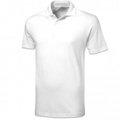 Original Slazenger Herren Polo-Shirt Advantage, White, S