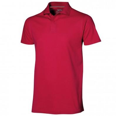 Original Slazenger Herren Polo-Shirt Advantage, Red, M