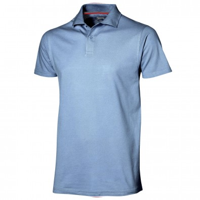 Original Slazenger Herren Polo-Shirt Advantage, Light Blue, L