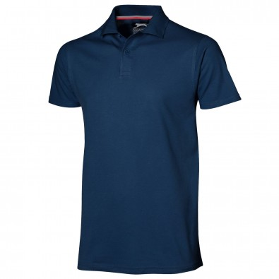Original Slazenger Herren Polo-Shirt Advantage, Navy, M