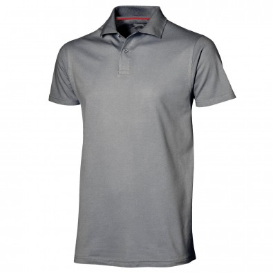 original slazenger herren polo shirt advantage grey xxl. Black Bedroom Furniture Sets. Home Design Ideas