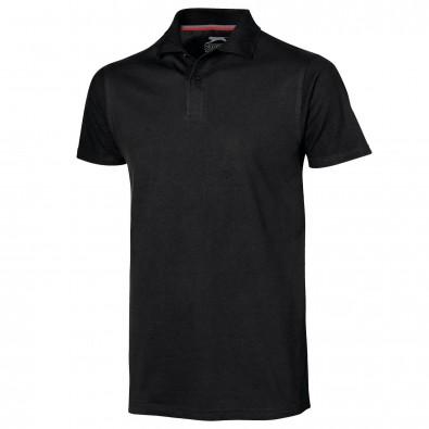 Original Slazenger Herren Polo-Shirt Advantage, Black, M