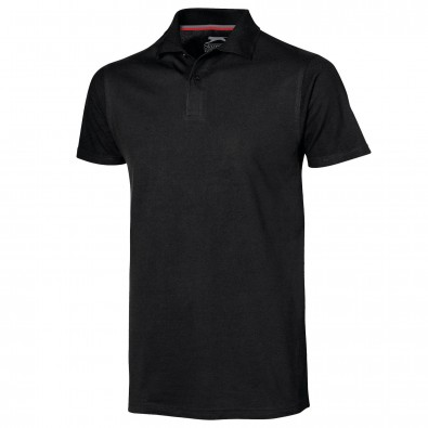 Original Slazenger Herren Polo-Shirt Advantage Black | XXL