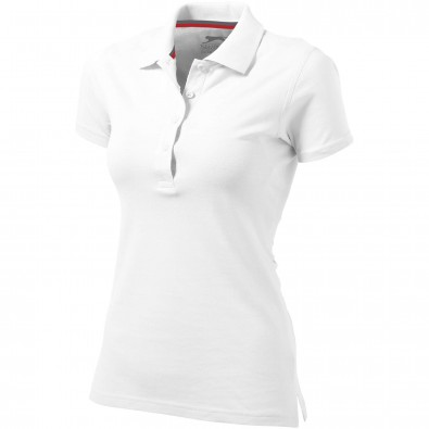 Original Slazenger Damen Polo-Shirt Advantage White | XXL