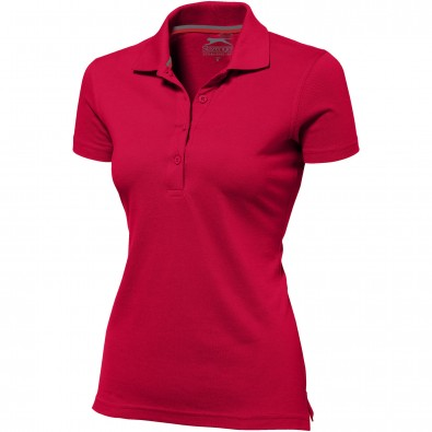 Original Slazenger Damen Polo-Shirt Advantage Red | M