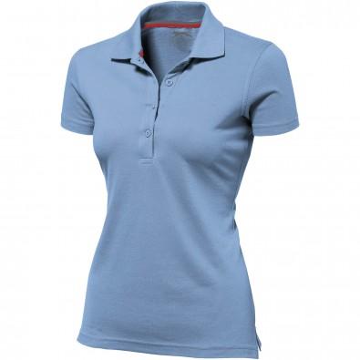 Original Slazenger Damen Polo-Shirt Advantage Light Blue | XL