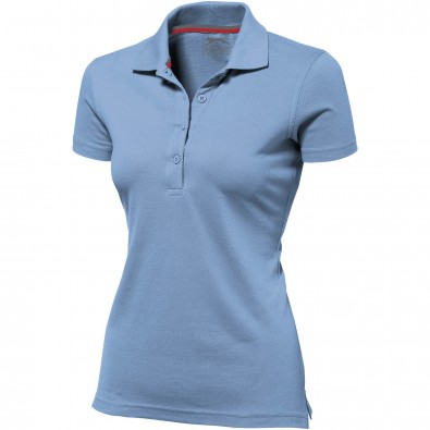 Original Slazenger Damen Polo-Shirt Advantage, Light Blue, XXL
