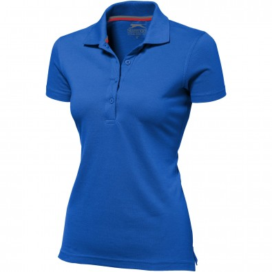 Original Slazenger Damen Polo-Shirt Advantage Classic Royal Blue | L