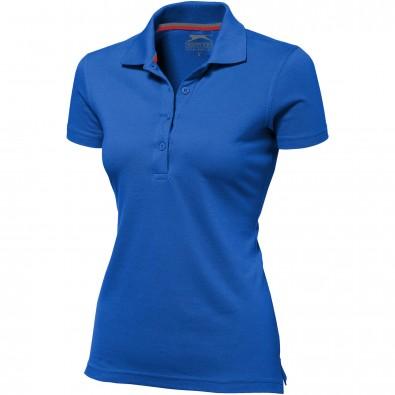 Original Slazenger Damen Polo-Shirt Advantage Classic Royal Blue | XL