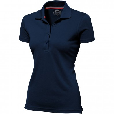 Original Slazenger Damen Polo-Shirt Advantage Navy | XL