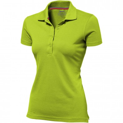 Original Slazenger Damen Polo-Shirt Advantage Apple Green | L