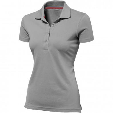 Original Slazenger Damen Polo-Shirt Advantage Grey | S