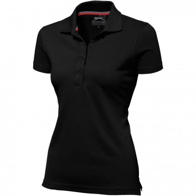 Original Slazenger Damen Polo-Shirt Advantage Black | S