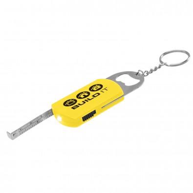 Multi Key Schlüsselanhänger, Gelb