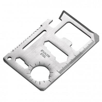 Multi-Tool SmartCard Silber