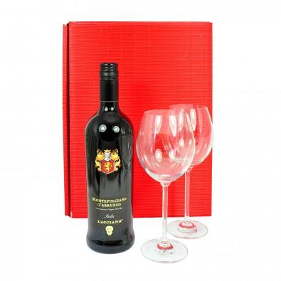 Italiensicher Rotwein mit Rastal Gläsern