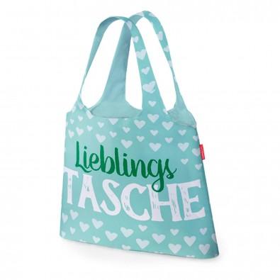 Wählen Sie für echte Auschecken Abstand wählen Faltbare Einkaufstasche Tasche für Dich, Lieblingstasche Lieblingstasche