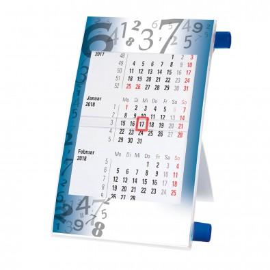 Tisch-Drehkalender Blau