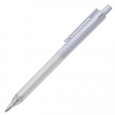 Kugelschreiber Kingston Weiß-Transparent
