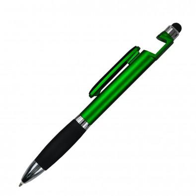 Kugelschreiber 4in1 Santiago Grün-Metallic