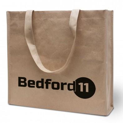 Papier/Vlies-Einkaufstasche Bedford