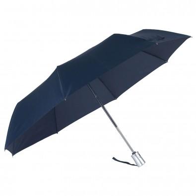 Original Samsonite® Automatik-Taschenschirm Rain Pro Dunkelblau