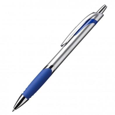 Kugelschreiber Jakarta Mittelblau/Silber