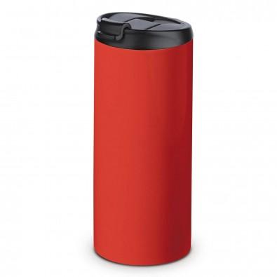 Edelstahl-Isolierbecher Fahrenheit Rot