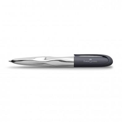 Faber-Castell Kugelschreiber n´ice pen Silber/Anthrazit