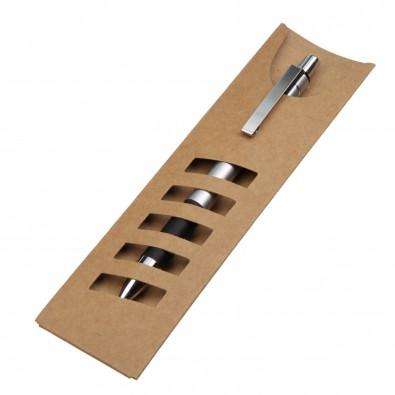Kugelschreiber Papp-Stecketui, Natur