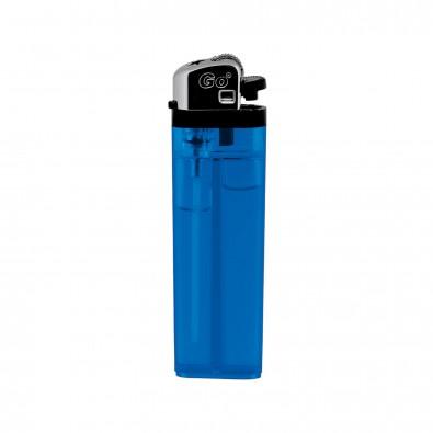 Feuerzeug Burn Blau-Transparent