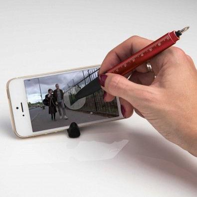 6 in 1 Touchpen, Rot