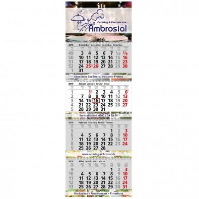 Block-Wandkalender mit Wire-O-Bindung 4 Block Kalender