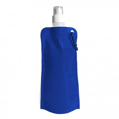 Wasserflasche faltbar Blau