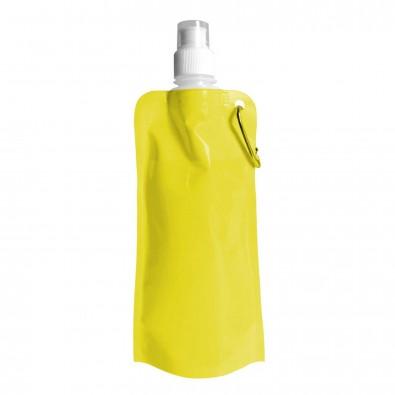 Wasserflasche faltbar, Gelb