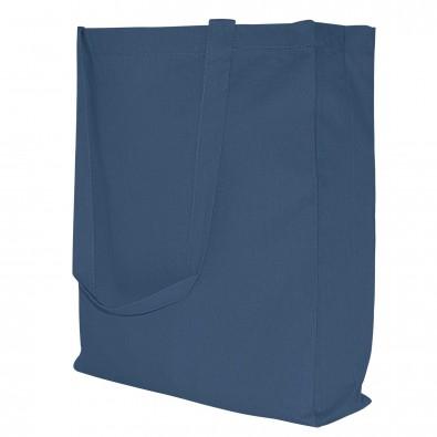 Baumwoll-Shopper in 10 Farben, Navyblau