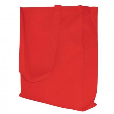 Baumwoll-Shopper in 10 Farben, Rot