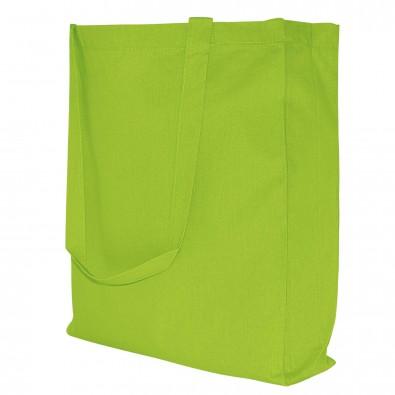Baumwoll-Shopper in 10 Farben, Maigrün
