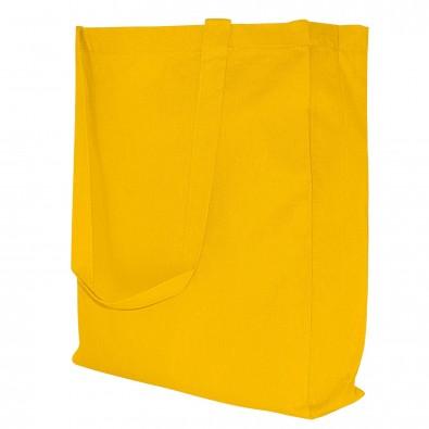 Baumwoll-Shopper in 10 Farben, Gelb