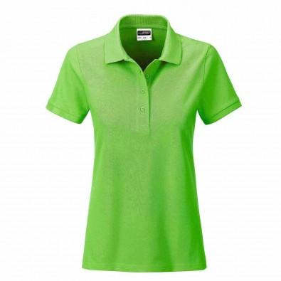 James & Nicholson Basic Polo Bio BW, Lady Lime-Green | XL