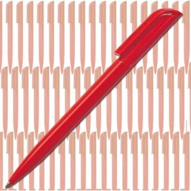 Werbe-Set: 500 LANCE Drehkugelschreiber Promo, Rot