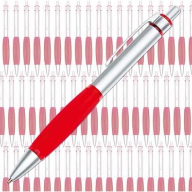Werbe-Set: 300 Druckkugelschreiber Colour Grip, Rot