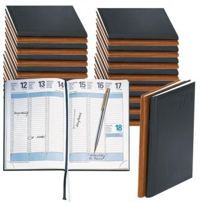 Werbe-Set: 50 Terminax Kalender mit Bedruckung Schwarz