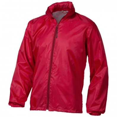 Action verstaubare Jacke unisex, rot, L