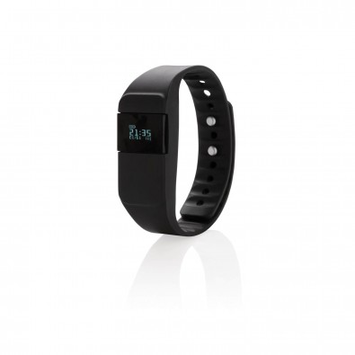 Activity-Tracker Keep Fit, schwarz schwarz