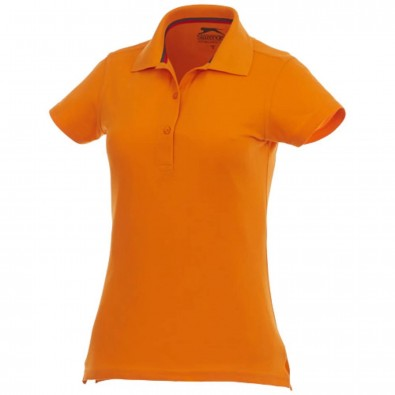 4b8ad398ea08d5 Advantage Damen Poloshirt, orange, L